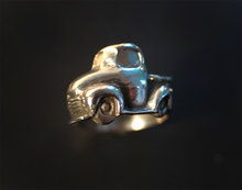 1950 Chevy Truck Wrapped Ring Rockabilly