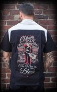 Bowling Shirt The Man in Black