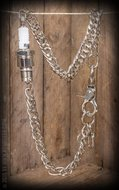 Rumble59 Wallet chain with spark plug